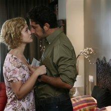 Marina Rocco e Luca Angeletti nell'episodio Non gioco più di Tutti pazzi per amore