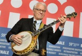 Steve Martin suona il banjo a Berlino