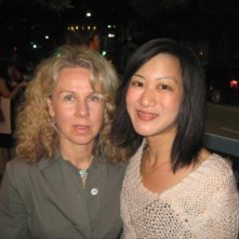 Betty Ouyang con la regista Courtney Hunt, che l'ha diretta in Frozen River.