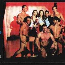 Gualberto Parmeggiani in una lobbycard promozionale di Quello che le ragazze non dicono, di Carlo Vanzina