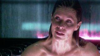 Kate Vernon in una scena dell'episodio No Exit di Battlestar Galactica