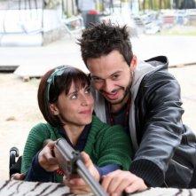 Mauro Meconi e Susy Laude in un'immagine dell'episodio 'Unico grande amore' del film I mostri oggi