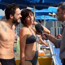 Mauro Meconi, Susy Laude e Antonio Friello in una scena dell'episodio 'La fine del mondo' del film I mostri oggi