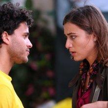 Mohammed Zouaoui e Anna Foglietta in una scena dell'episodio 'La testa a posto' del film I mostri oggi