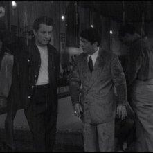 Robert De Niro e Joe Pesci in una scena del film  Toro scatenato