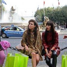Veronica Corsi, Cristel Checca, Chiara Gensini e Beatrice Aiello in una scena dell'episodio 'Fanciulle in fiore' del film I mostri oggi