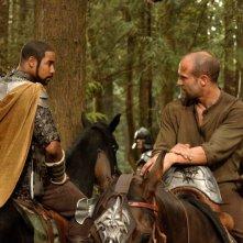 Brian J. White e Jason Statham in una scena del film In the Name of the King