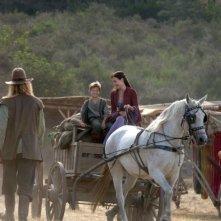 Colin Ford e Claire Forlani in un'immagine del film In the Name of the King