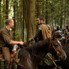 Jason Statham e Brian J. White in una scena del film In the Name of the King