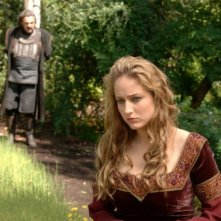 John Rhys-Davies e Leelee Sobieski in una scena del film In the Name of the King