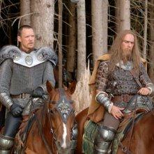 Matthew Lillard in una sequenza del film In the Name of the King