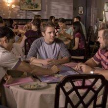 Rick Gonzalez, Tyler Labine e Bret Harrison in una scena dell'episodio Dirty Sexy Mongrel di Reaper