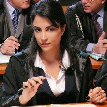 Emanuela Mulé è il pubblico ministero Parsi ne La siciliana ribelle