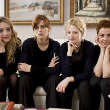 Carolina Crescentini, Claudia Pandolfi, Alba Rohrwacher e Valeria Milillo in una foto promozionale del film Due partite