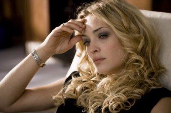 Carolina Crescentini in un'immagine del film Due partite