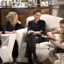 Claudia Pandolfi, Alba Rohrwacher, Valeria Milillo e Carolina Crescentini in una scena del film Due partite