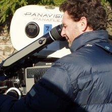 Fabio Olmi al lavoro sul set