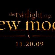 Il logo di New Moon, diretto da Chris Weitz e ispirato al romanzo di Stephenie Meyer