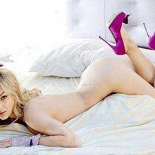 La sexy Sarah Nile in un servizio fotografico di Playboy Italia