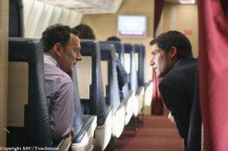 Matthew Fox e Michael Emerson in una scena dell'episodio 316 di Lost