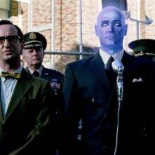 Billy Crudup in una scena di Watchmen