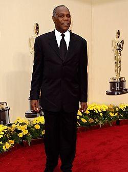 Danny Glover sul tappeto rosso degli Oscar 2009