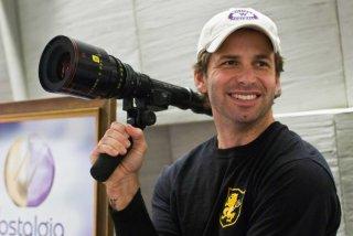Il regista Zack Snyder