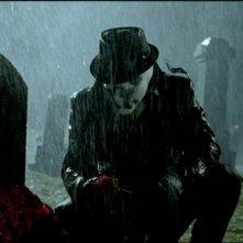 Jackie Earle Haley è Rorschach nel film Watchmen
