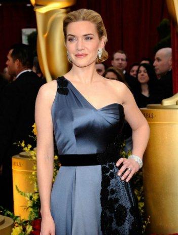 Kate Winslet sul tappeto rosso degli Oscar 2009