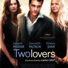 La locandina italiana del film Two Lovers