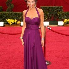 Lisa Rinna sul tappeto rosso degli Oscar 2009
