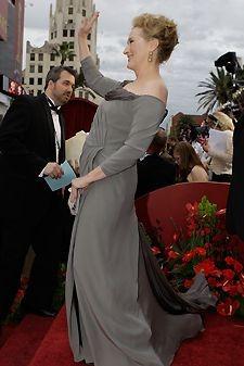 Meryl Streep sul tappeto rosso degli Oscar 2009