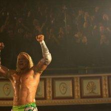 Mickey Rourke interpreta Randy 'The Ram' Robinson nel film The Wrestler