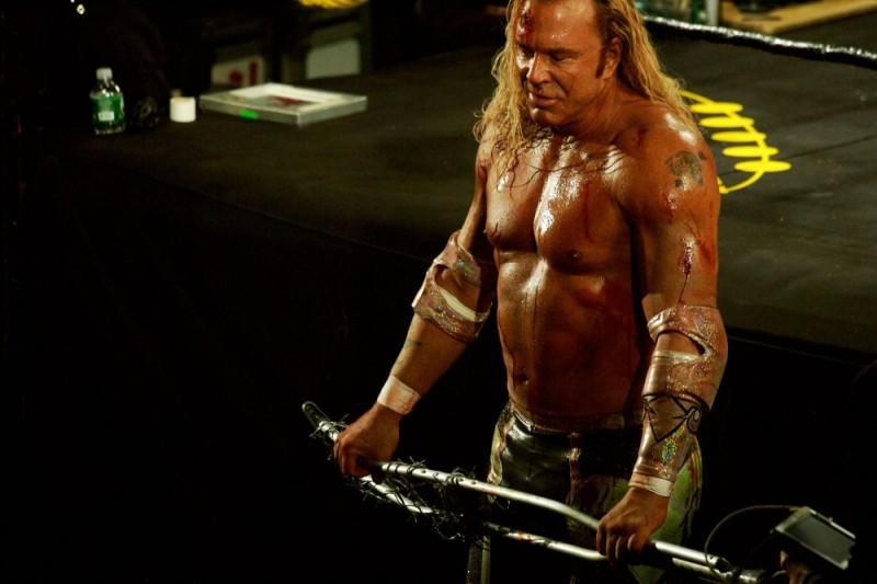 Mickey Rourke Interpreta Randy The Ram Robinson Nel Film The Wrestler Diretto Da Darren Aronofsky 106317