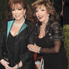 Oscar 2009: Joan Collins e sua sorella Jackie
