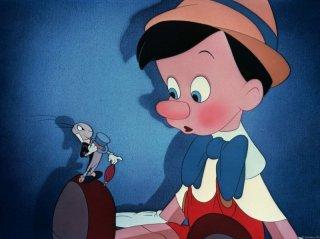 Una scena del film d'animazione Pinocchio (1940)