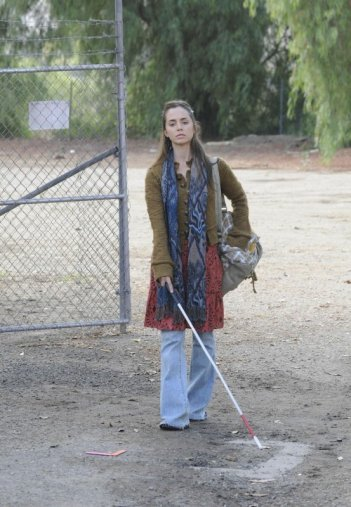 Eliza Dushku in una scena dell'episodio True Believer di Dollhouse
