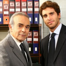 Giampaolo Morelli e Andrea Tidona in Butta la luna 2