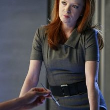 Shirley Manson in una scena dell'episodio Today is the Day: Part 1 di Terminator: The Sarah Connor Chronicles