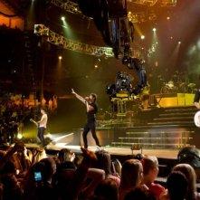 Una scena del film-concerto Jonas Brothers: The 3D Concert Experience