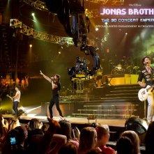 Wallpaper del film-concerto Jonas Brothers: The 3D Concert Experience