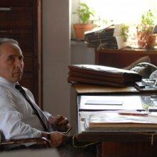 Ernesto Mahieux sul set del film Fortapàsc
