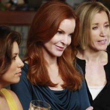 Eva Longoria, Marcia Cross, Felicity Huffman nell'episodio Crime Doesn't Pay della quinta stagione di Desperate Housewives