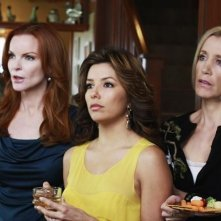 Eva Longoria Parker, Marcia Cross, Felicity Huffman nell'episodio Crime Doesn't Pay della quinta stagione di Desperate Housewives