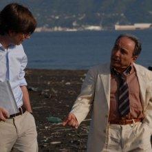 Libero De Rienzo ed Ernesto Mahieux in una scena del film Fortapàsc