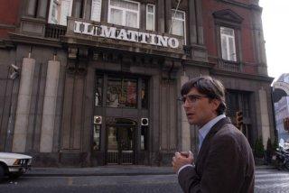 Libero De Rienzo interpreta il giornalista Giancarlo Siani nel film Fortapàsc