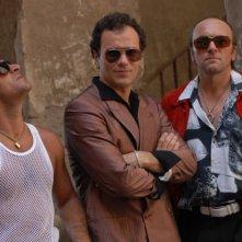 Massimiliano Gallo e Gianfranco Gallo in una scena del film Fortapàsc