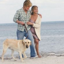 Owen Wilson e Jennifer Aniston in un'immagine del film Io & Marley, diretto da David Frankel