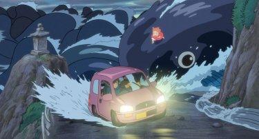 Un'immagine del film d'animazione Ponyo sulla scogliera, diretto da Hayao Miyazaki