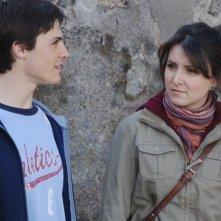Domenico Balsamo e Carla Ferraro in una scena del film L'ultimo Pulcinella